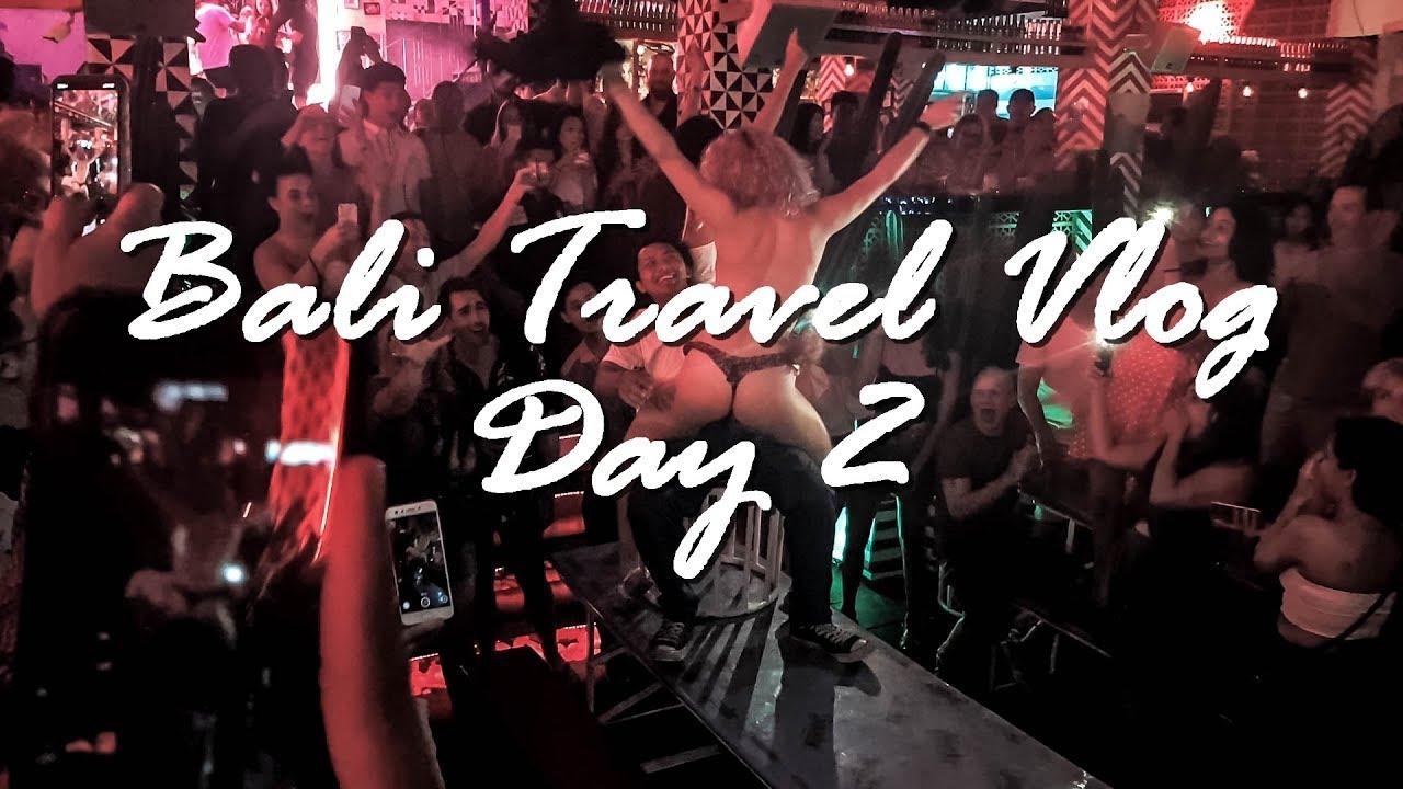 Bali Travel Vlog – Day 2 | Ubud, Legian & Mexicola Wild Party!