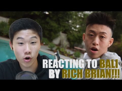 Reacting to RICH BRIAN'S BALI!!! (Recommend to React Ep.2)