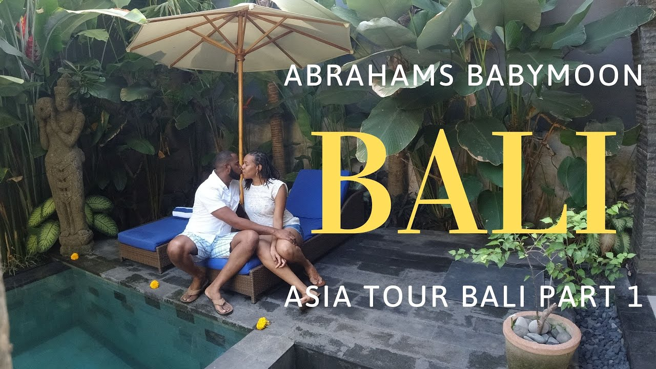 Traveling 26 hours For Our Babymoon | Asia Tour | Ubud | Bali | Indonesia| Part 1 | Villa tour