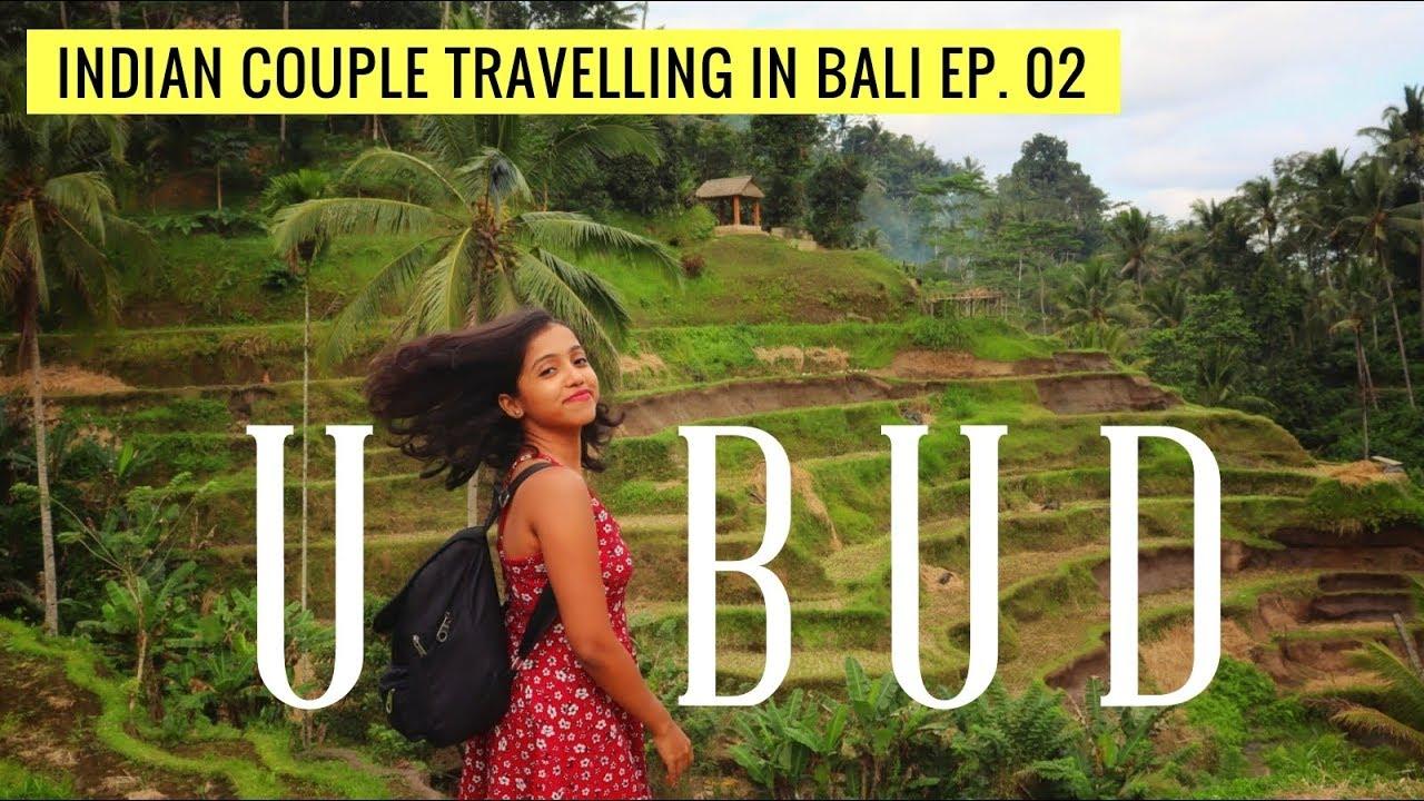 Ubud, Bali Travel Vlog | Tegenungen Waterfall, Monkey Forest, Rice field terraces | Anagha Mirgal