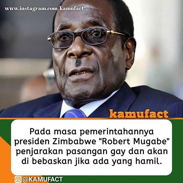 Robert Gabriel Mugabe adalah Presiden Zimbabwe kedua.